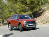 Ford Ranger Wildtrack accion 62