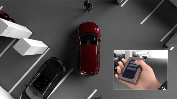 Nuevo sistema de aparcamiento automático de Ford para aparcar desde el interior o exterior del vehículo