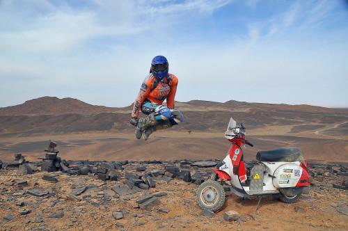 Vespa Raid maroc 2013 103