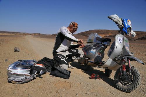 Vespa Raid maroc 2013 134