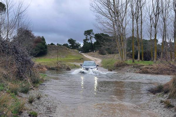 Prueba off road. Toyota RAV4 120 D 4X4 Advance 20 Aniversario. El equilibrio