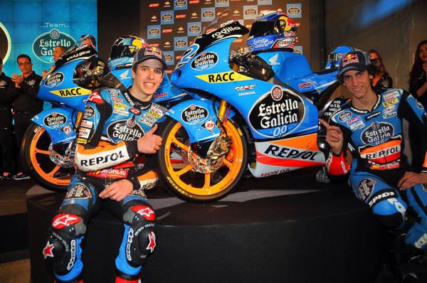 Presentación del equipo Estrella Galicia de Moto3