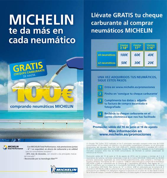 """Promoción """"Michelin te da más en cada neumático 2014"""""""