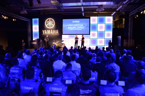 Yamaha Racing Press event