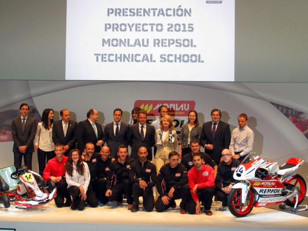 Repsol y Monlau presentan su programa de becas de 2015