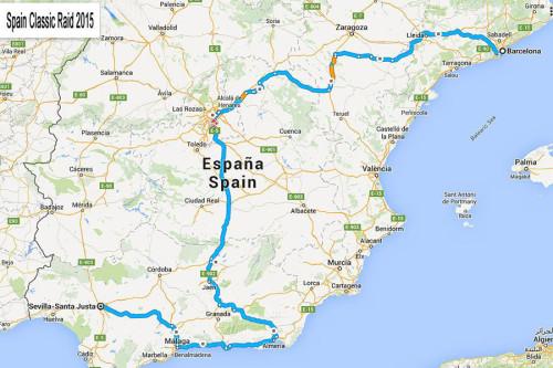 Spain Classic Raid 14