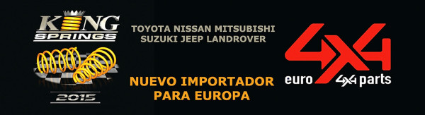 EURO4X4PARTS nuevo distribuidor exclusivo de King Springs para Europa
