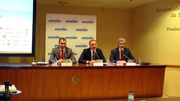 Rueda de Prensa ANESDOR. Matriculaciones 2015. El crecimiento se consolida