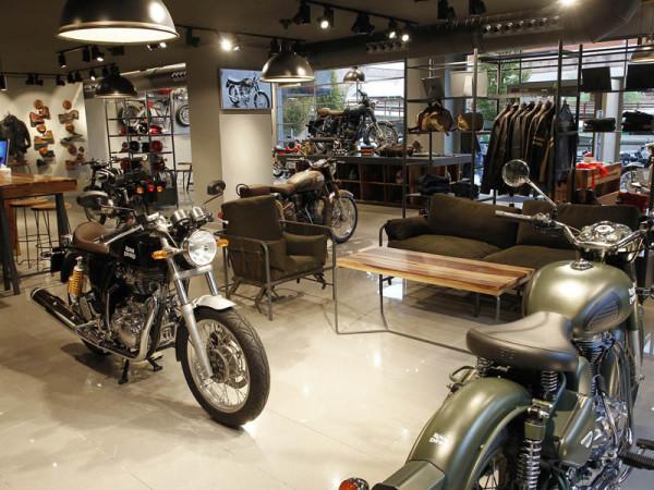 Nueva tienda Royal Enfield en Madrid. La marca se expande