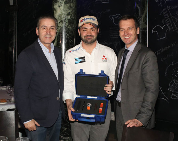 Rubén Gracia y Diego Vallejo de nuevo juntos en 2016. Michelin y Mitsubishi sus principales compañeros