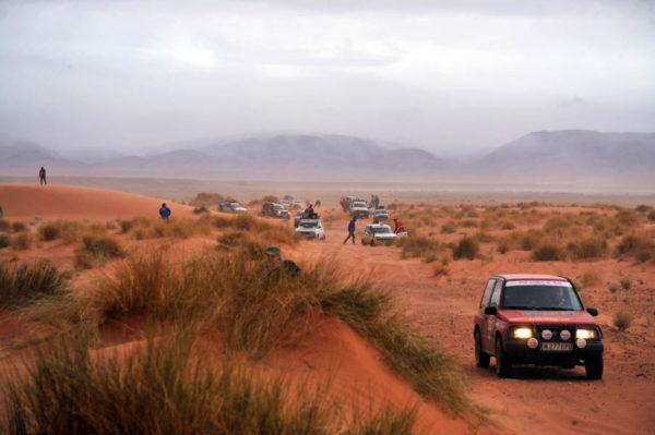 VII Rally Clásicos del Atlas Solidario. Una auténtica aventura