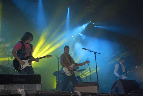 Cañoneros en concierto