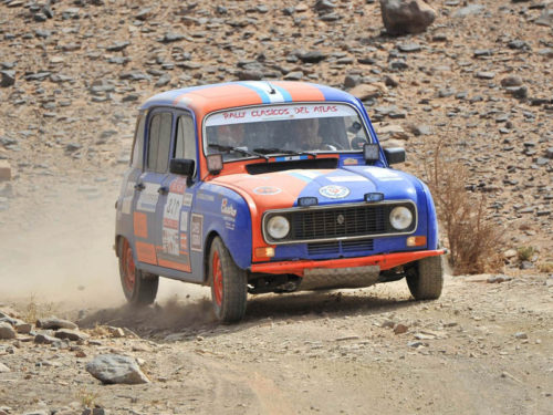 Rally Clasicos del Atlas Solidario 2017