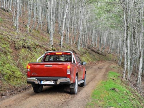 Ruta SUV Isuzu D-Max
