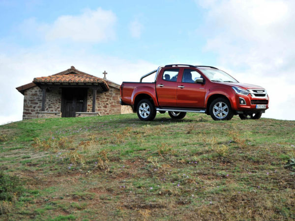 España off road en Isuzu D-Max: Por la provincia de La Rioja. La Sierra de la Demanda