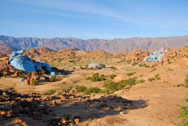 Conociendo Marruecos (11). Tafraoute