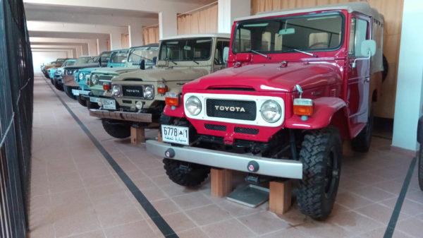 Conociendo Marruecos (10). Museo de automoción de Merzouga