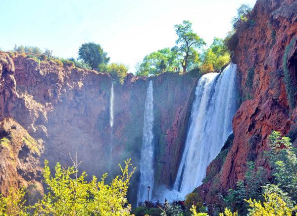 Conociendo Marruecos (12). Las Cascadas de Ouzoud
