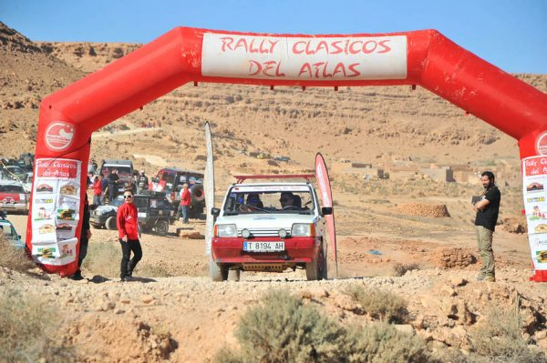 V Rally Clásicos del Atlas Invernal