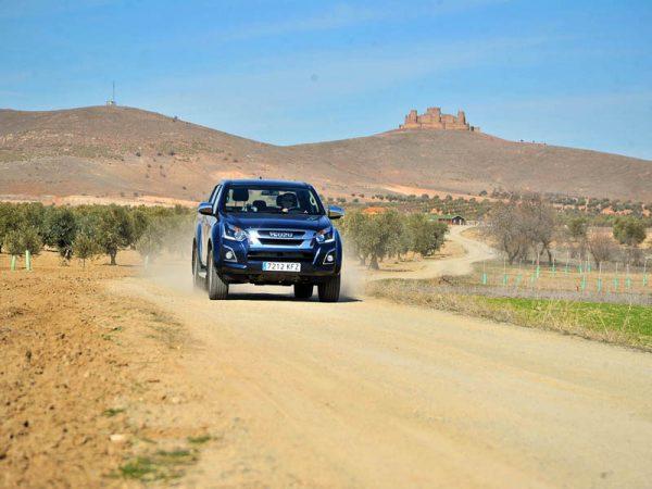 España off road en Isuzu D-Max: Por la provincia de Toledo. De la Mesa de Ocaña a Los Montes de Toledo