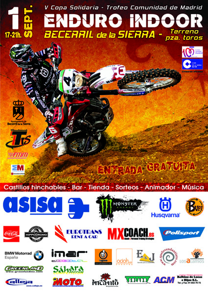 Copa Solidaria de Enduro Indoor 2012